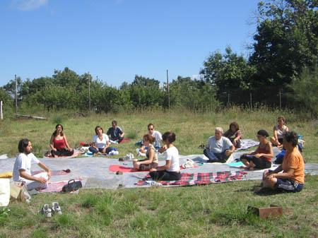 11 settembre 2005 – Yoga per la non violenza