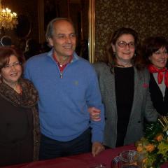 con Antonio Nuzzo, Wanda Vanni e Maria Farina