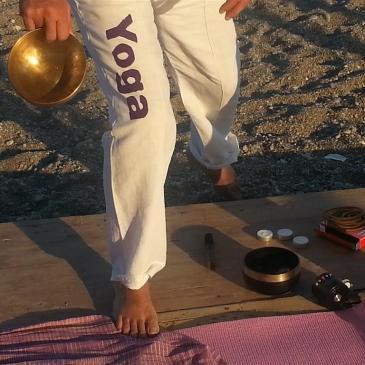 9 settembre 2014 – Yoga sulla spiaggia