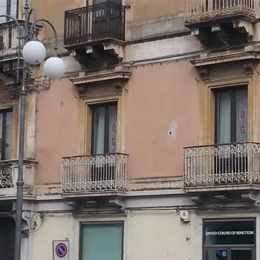 i balconi su via Callipoli