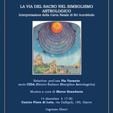 14 dicembre 2014 – Pia Vacante – La via del sacro nel simbolismo astrologico