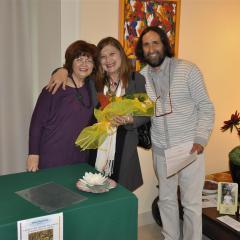 con Maria Paone