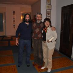 con Enzo Russo