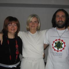 con Stefani Redini