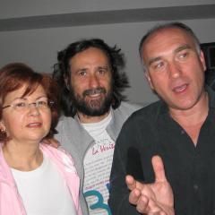 con Patrick Torre