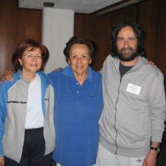 con Nadia Sabra
