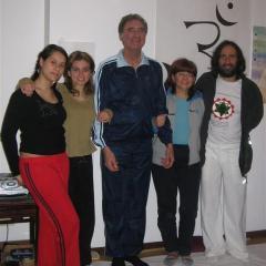 con Alberto Stipo, Delia Caramma e Anna Di Bartolo