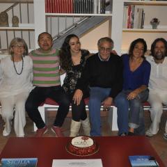 con Shuhei Matsuyama, Nilla Zaira D'Urso, Solveig Cogliani e Danilo Maestosi