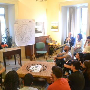 Conferenza di Pia Vacante sull'Astrologia
