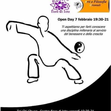 Tai Chi Chuan lezione open – 7 febbraio 2020 ore 19.30